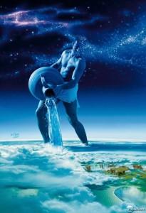 Aquarius figura Imagem = http://minilua.com/incriveis-ilustracoes-dos-signos-dos-zodiaco-2/
